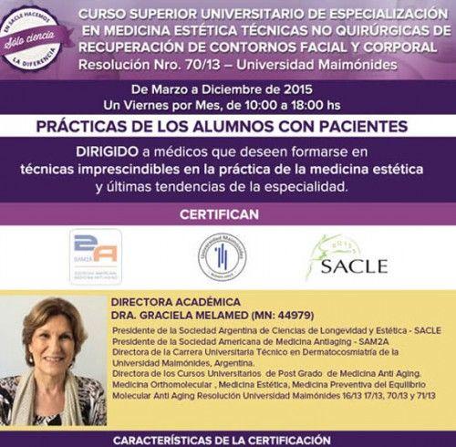 Curso Superior Universitario de Especialización en Medicina Estética