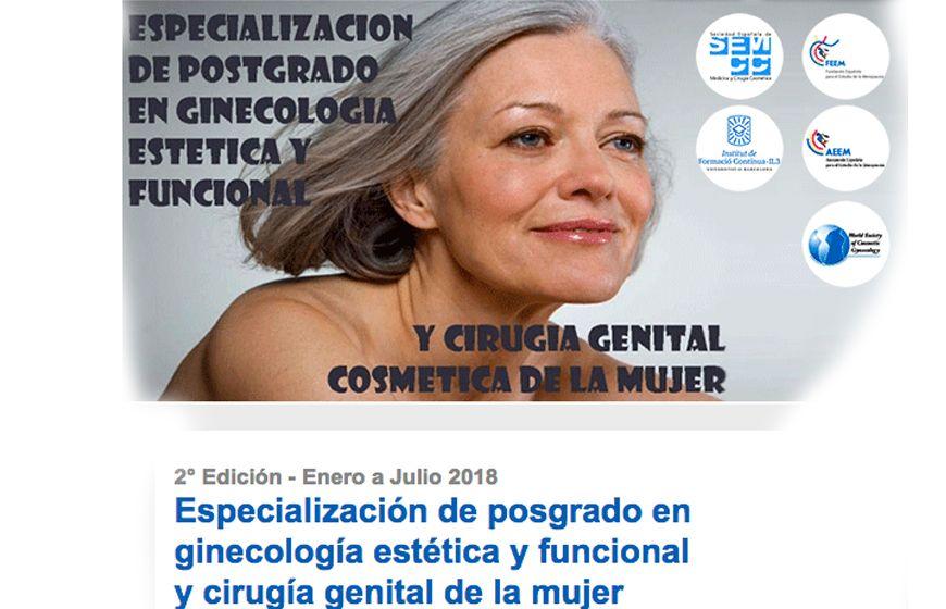 postgrado en ginecología estética