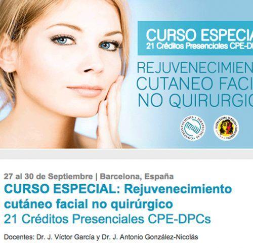 Rejuvenecimiento cutáneo facial no quirúrgico